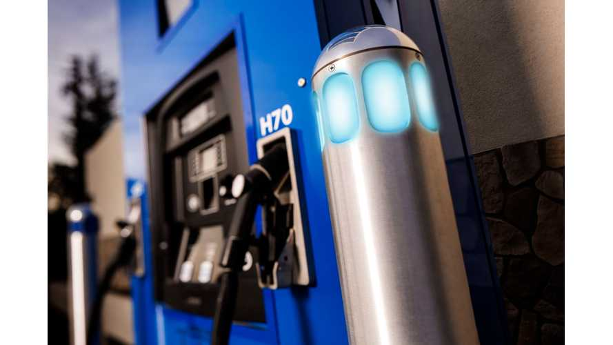 2018 January Hydrogen Fueling Stations Status in U.S.: 39 Available