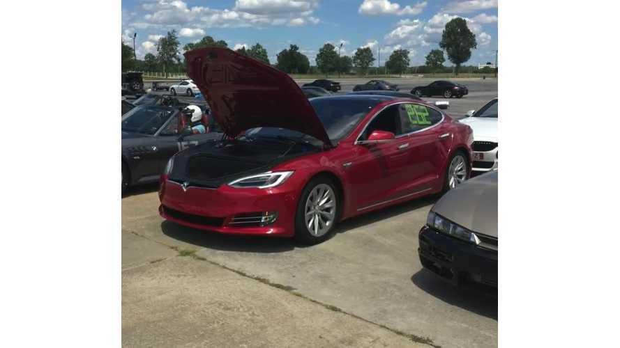 Tesla Model S P90DL AutoX Performance - Video