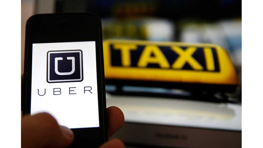 Uber Investing $260 Million In Electric Car Push