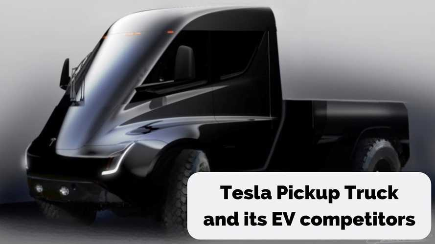 Let's Look At The Tesla Pickup Truck & Its Electric Competition
