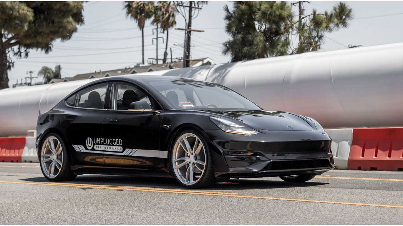 Top Gear Tests Unplugged Tesla Model 3