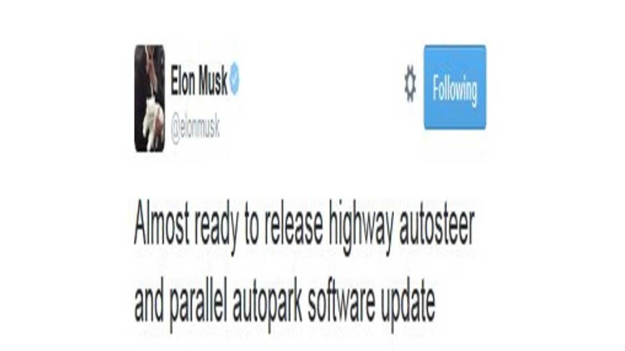 Tesla Model S Software Update To Enable Highway Autosteer & Parallel Autopark Almost Ready For Release