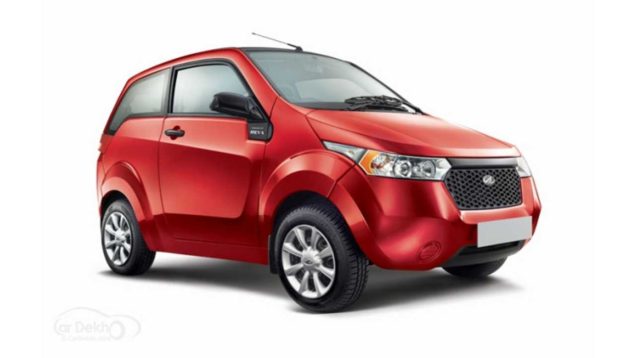 Mahindra To Offer Sub-£10,000 Electric Car In UK In 2016