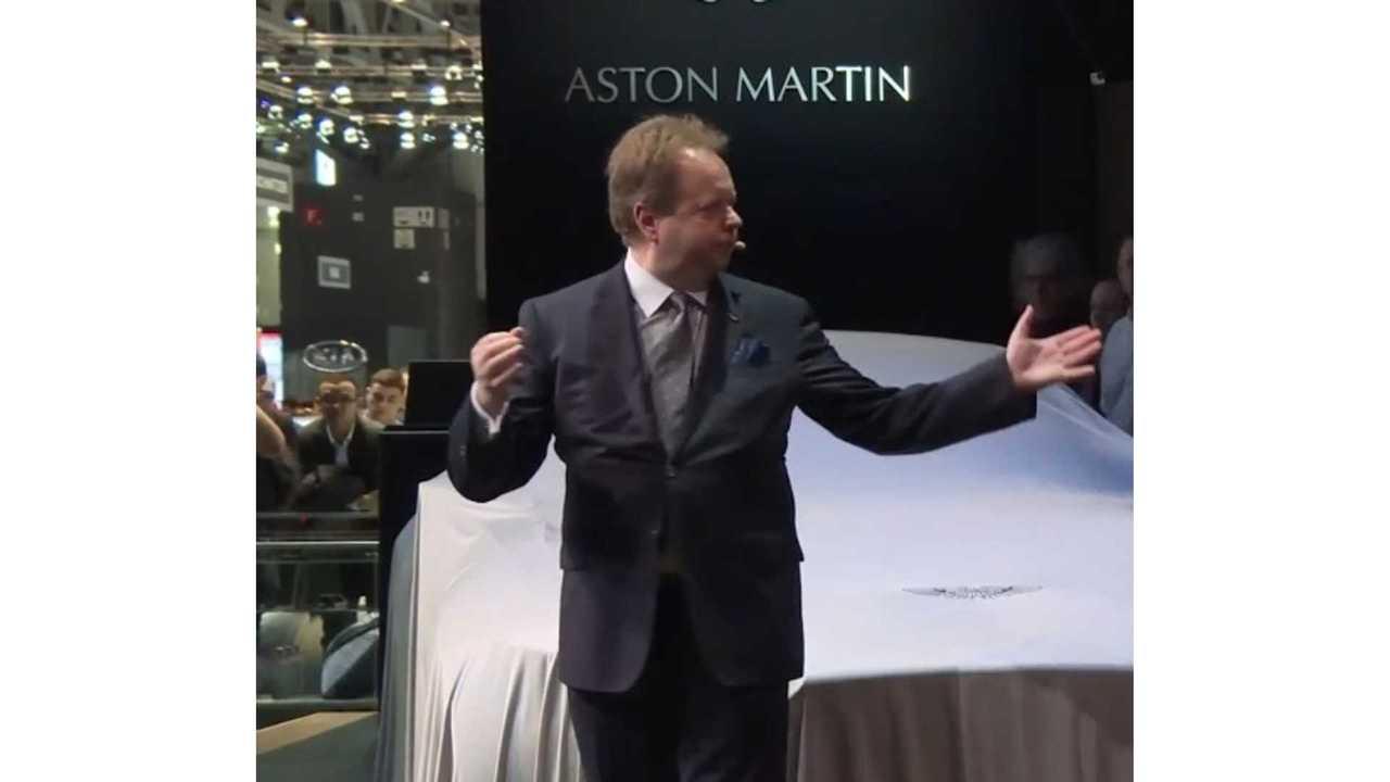 Aston Martin CEO Talks Automaker's Electric Future,