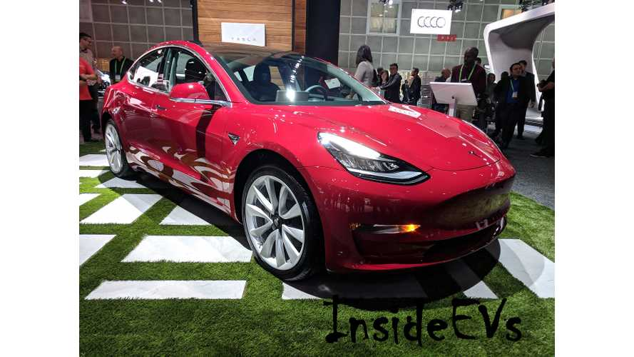 Tesla Model 3 Production Might Hit 5,000 Per Week Soon