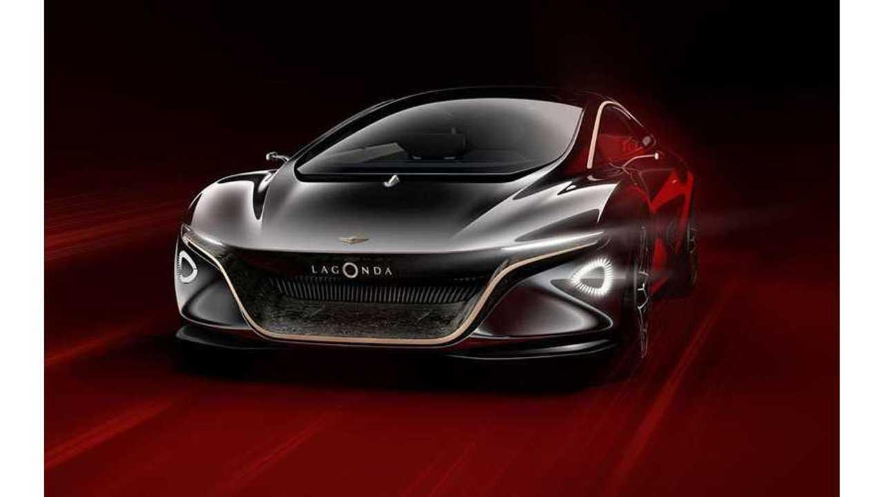 Aston Martin Reveals Electric Lagonda Vision (w/video)