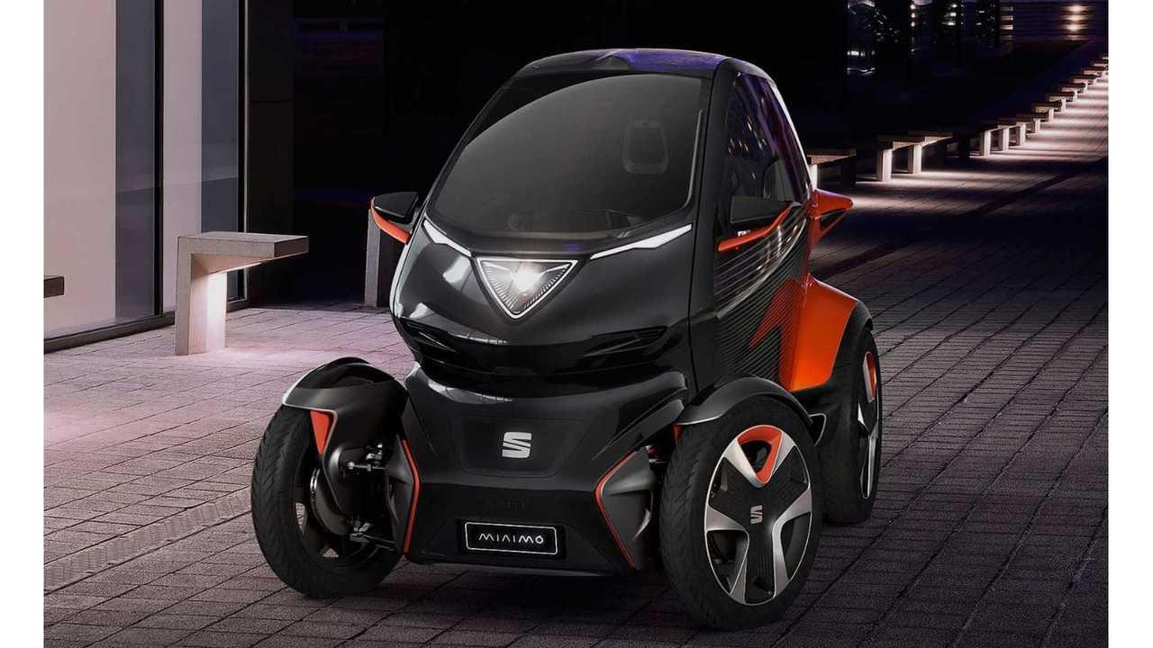 Seat Unveils Minimo Electric Concept Car