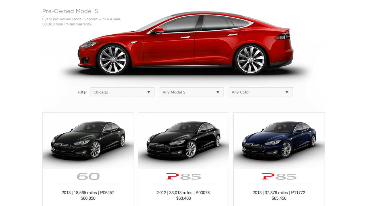 Pre Owned Tesla >> Tesla Launches Certified Pre Owned Program