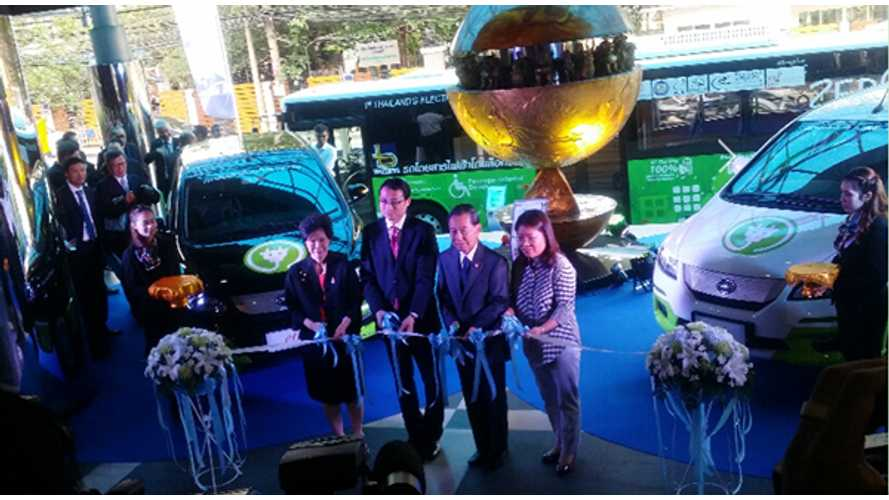 BYD Launching EV Sales In Thailand With Loxley