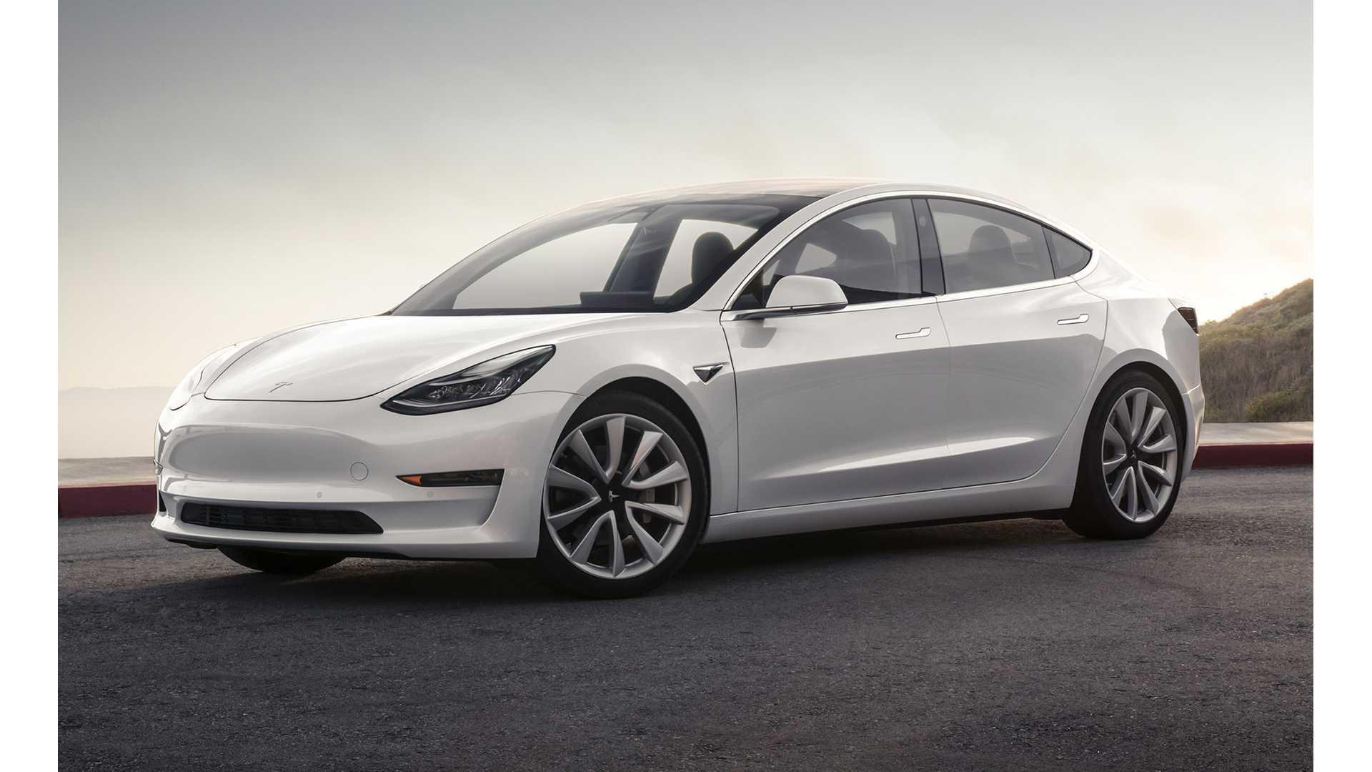 Tesla Model 3 Tops Audi E-Tron & Jaguar I-Pace In UK