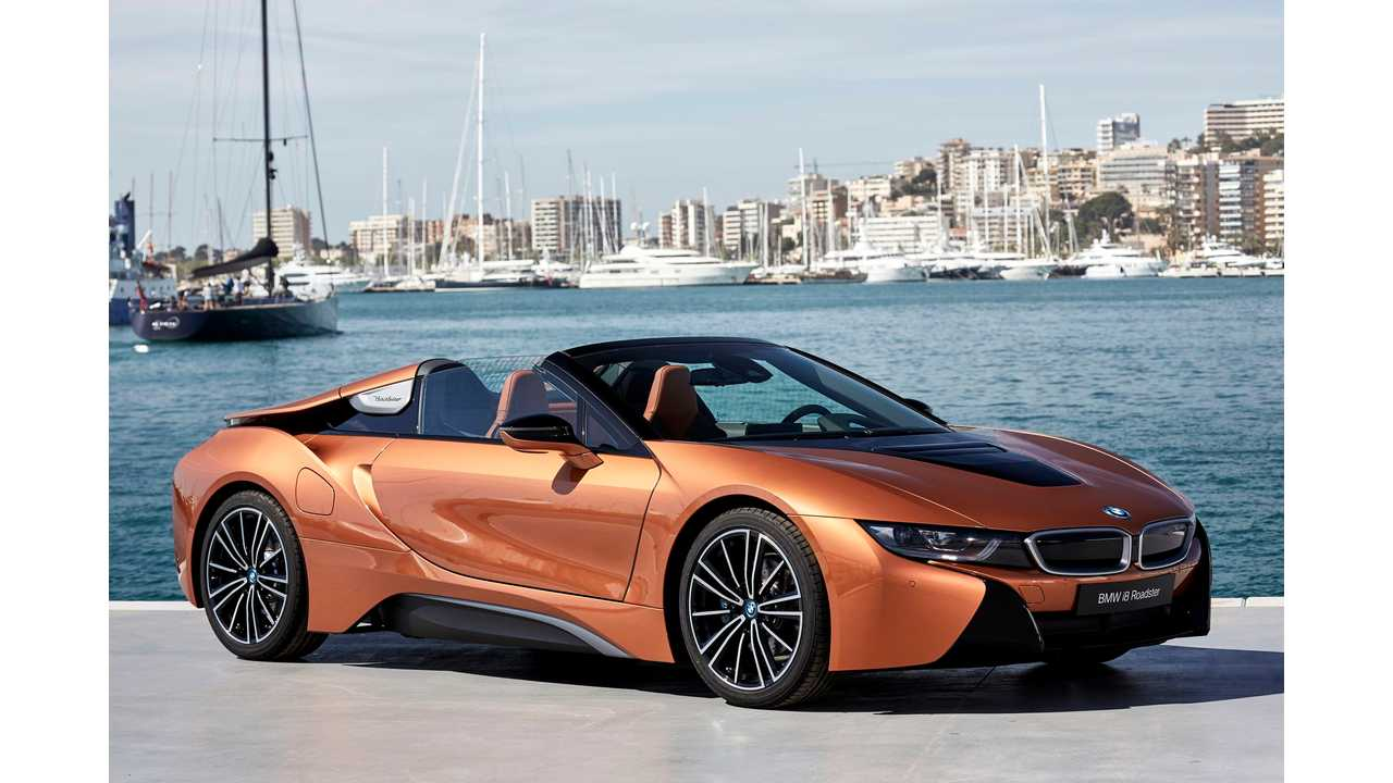 Wired Drives The New BMW i8 Roadster