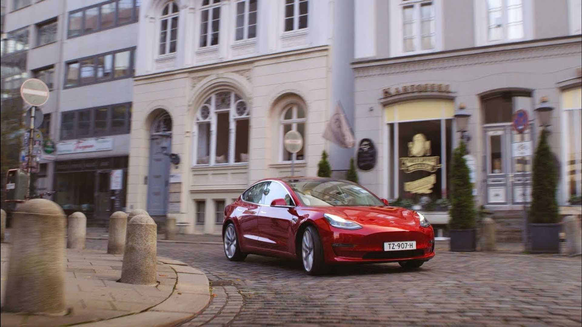 Number Of Identified Tesla Model 3 Orders In Europe Close To