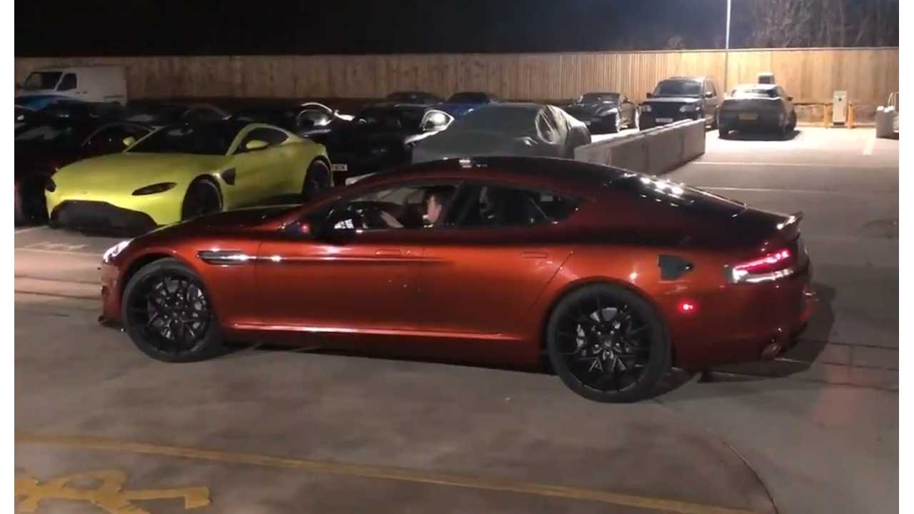 Aston Martin Rapide E Validation Prototype Moves Under Own Power