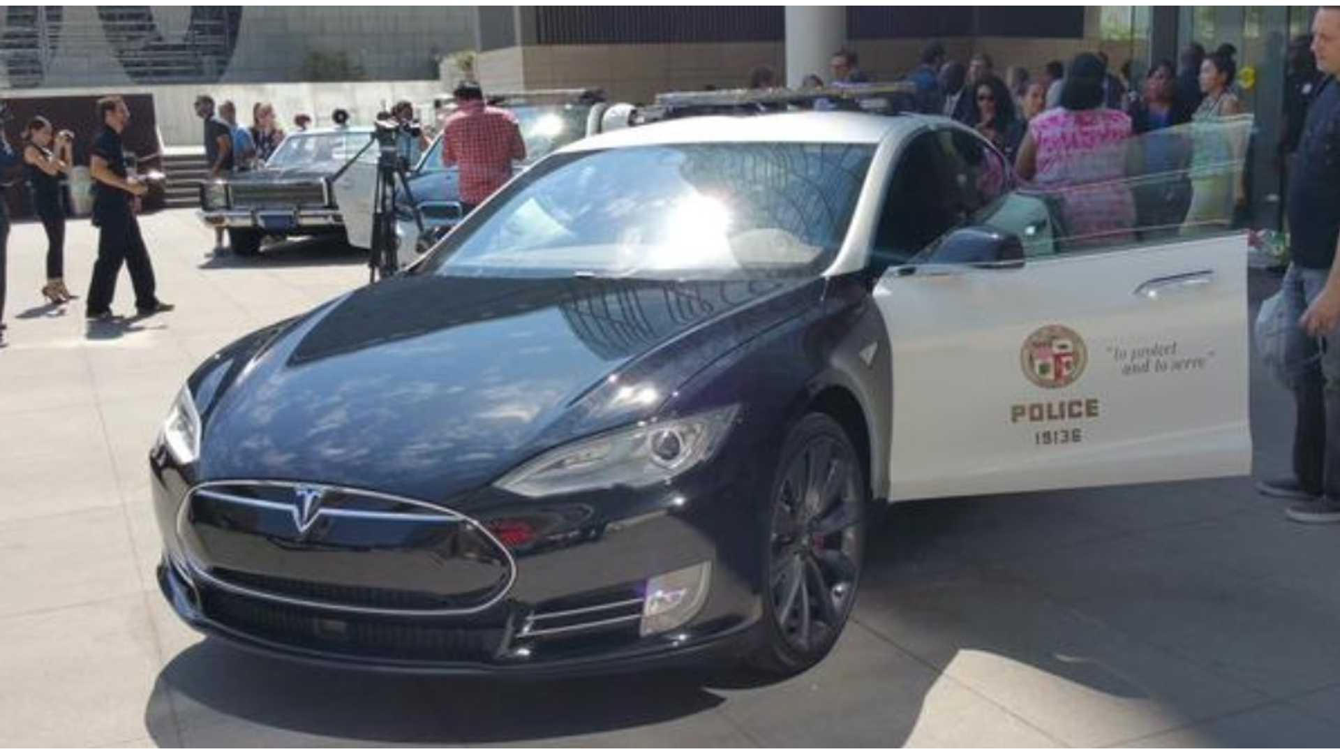 Fremont Police To Deploy Tesla Model S Patrol Car