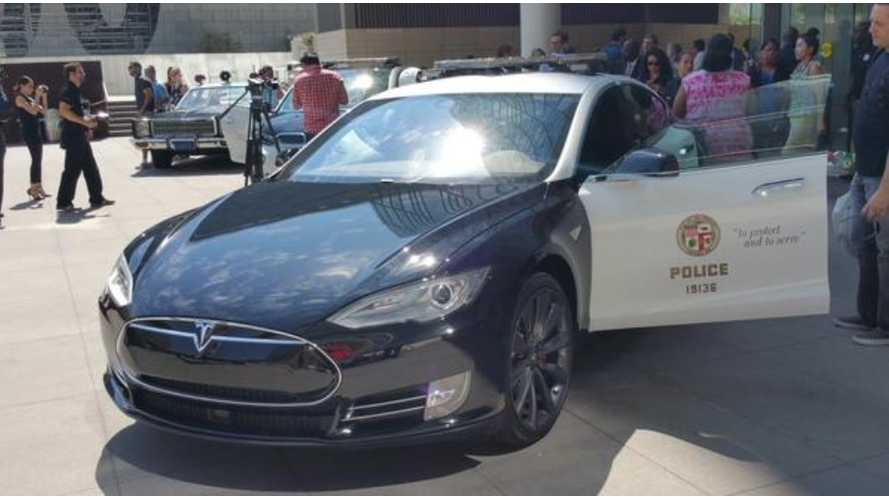 Tesla Model S Police Pursuit Called Off Due To Low Charge