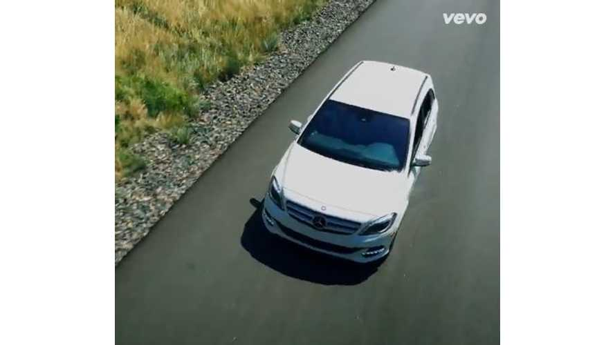 "Mercedes-Benz B-Class Electric Drive Makes Appearance In  OneRepublic ""I Lived"" Video"