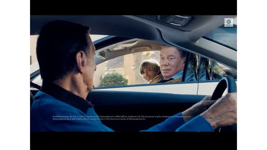 VW Commercial: Kirk, Spock, e-Golf, e-Up! and the XL1 - How Can't It Be Great?