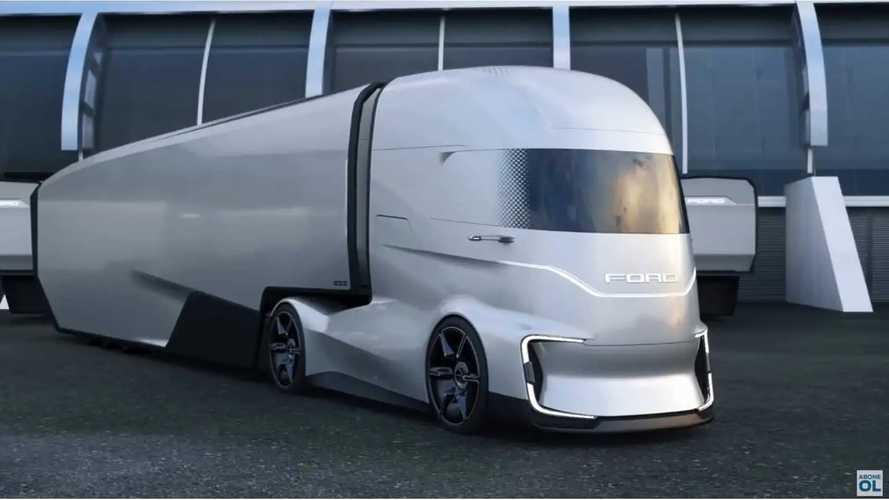 2e5eebb80580ea Ford Unveils Wild F-Vision Electric Semi Truck