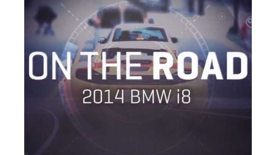 CNET On Cars Explores BMW i8 - Video