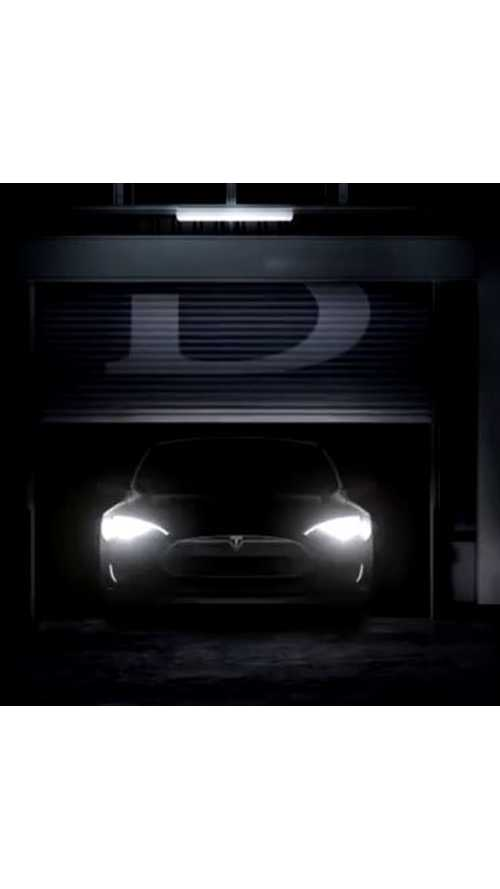 First Hint To Final Reveal - Video Compilation Of Tesla Model S P85D