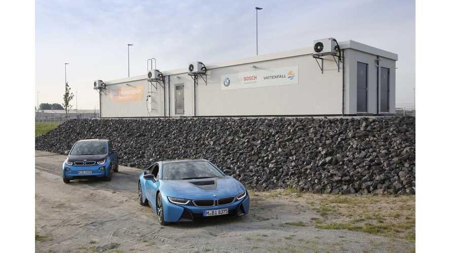 BMW and Bosch's Second-Life 2.8 MWh Energy Storage Solution in Hamburg