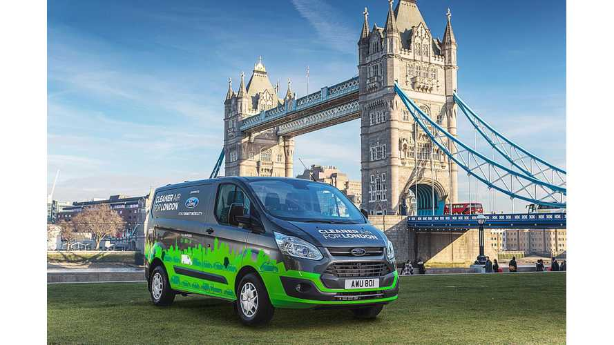 Ford Begins Trials Of Plug-In Hybrid Vans In London - Video
