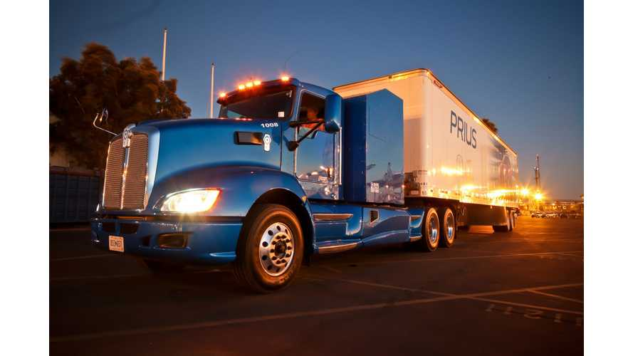 Toyota Hints At Megawatt Stations For Semi Trucks, Hydrogen Of Course