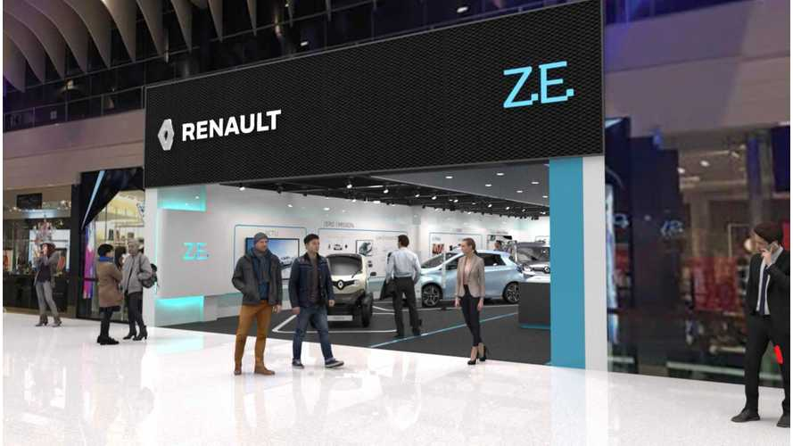 Renault Will Open First Dedicated EV Store In Europe