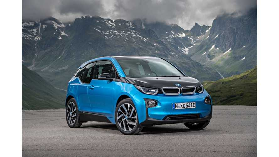 Wallpaper Wednesday: 2017 BMW i3 (94 Ah / 33 kWh)