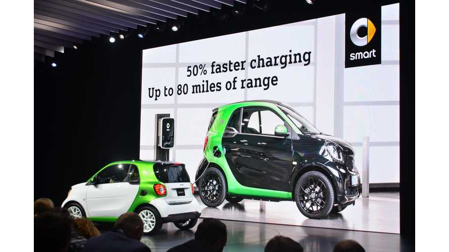Smart USA Launches New Electric Drive In Fortwo And ForFour - Video Reviews