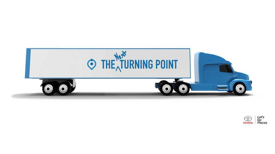 """Toyota Explores """"Heavy-Duty"""" Truck Hydrogen Fuel Cell Applications"""