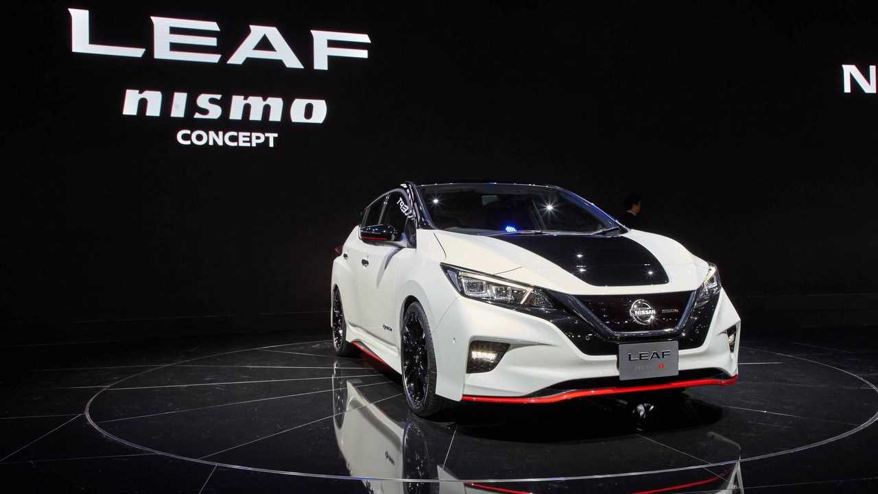 Nissan LEAF Nismo Makes Grand Debut In Tokyo