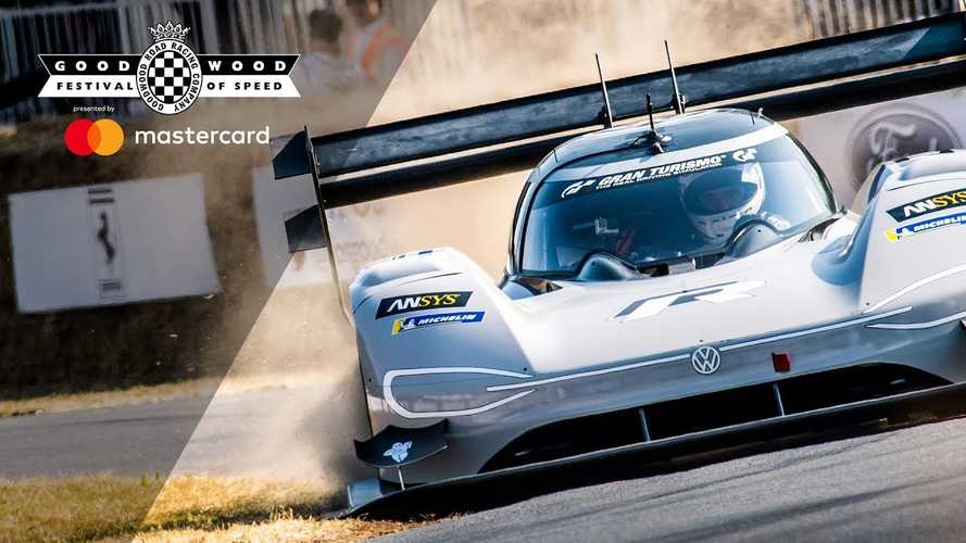 Watch Volkswagen I.D. R Dominate Goodwood, Set Electric Car Record