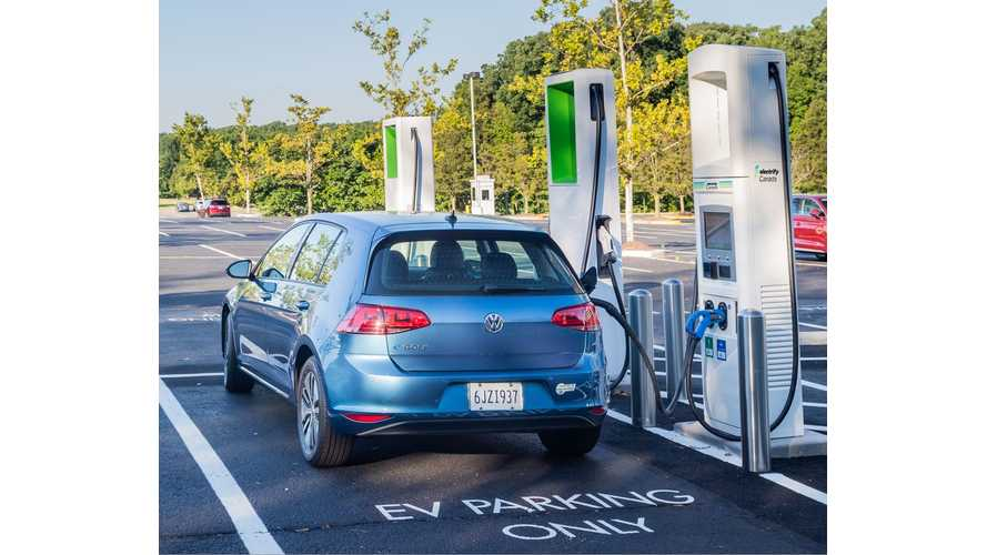 Electrify Canada To Provide 2 Years Free Charging For VW e-Golf Owners