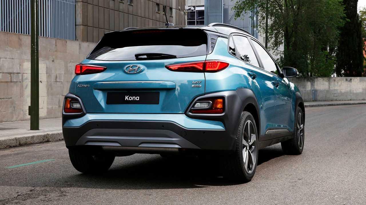 Hyundai Kona Electric: Two Battery Options, Up To 210-Mile Range