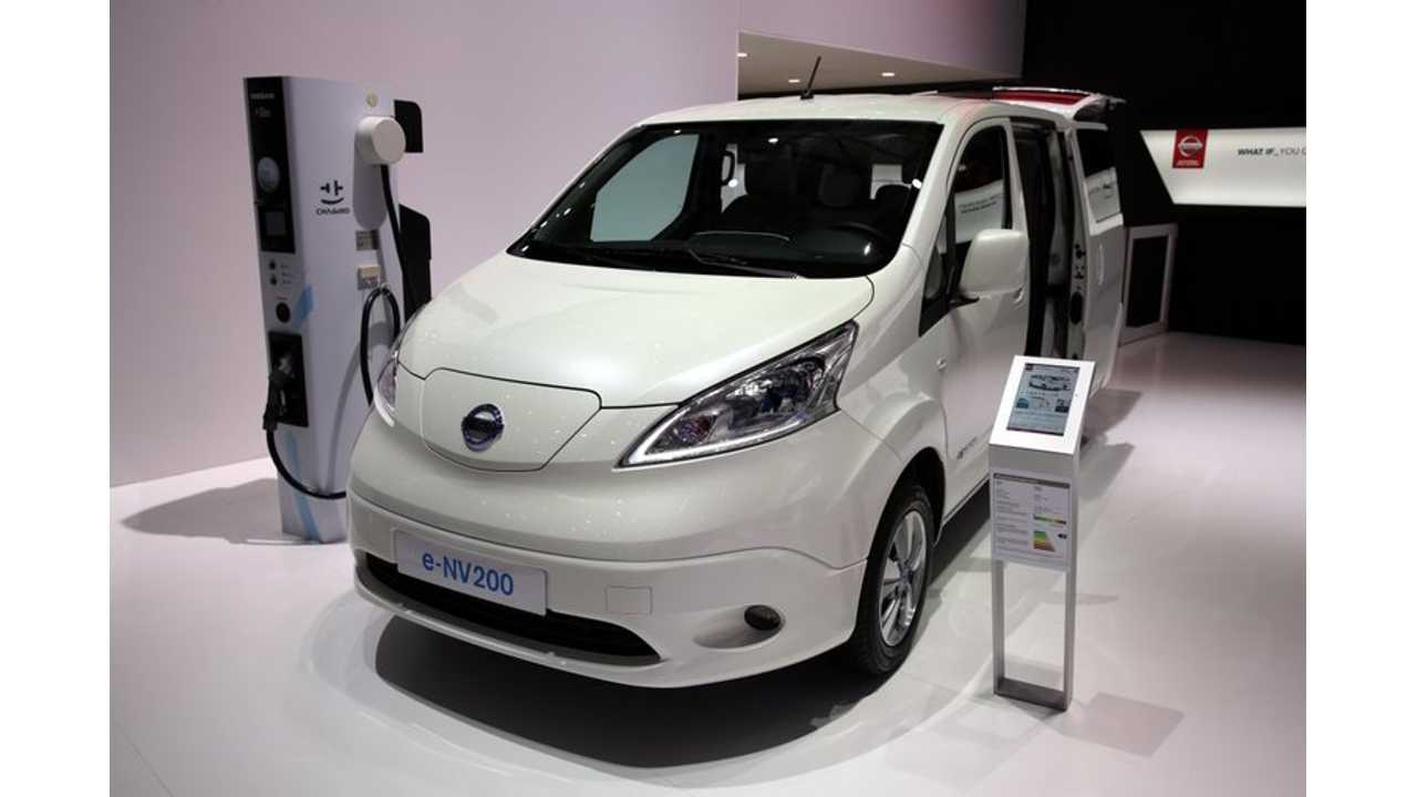 2018 Nissan e-NV200 To Get 40 kWh Battery, Arrives This Spring