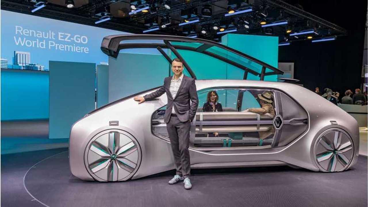 Renault EZ-GO At 2018 Geneva Motor Show - Photos & Videos