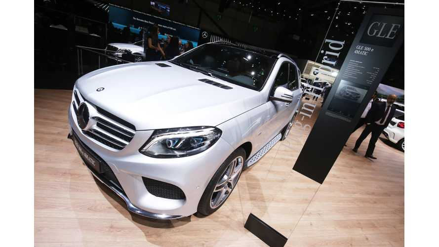 Mercedes-Benz GLE Plug-In Hybrid Expected To Go 62 Electric Miles (WLTP)