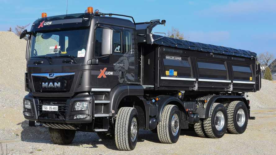 Bauma 2019: MAN zeigt neue Lastwagen und Motoren