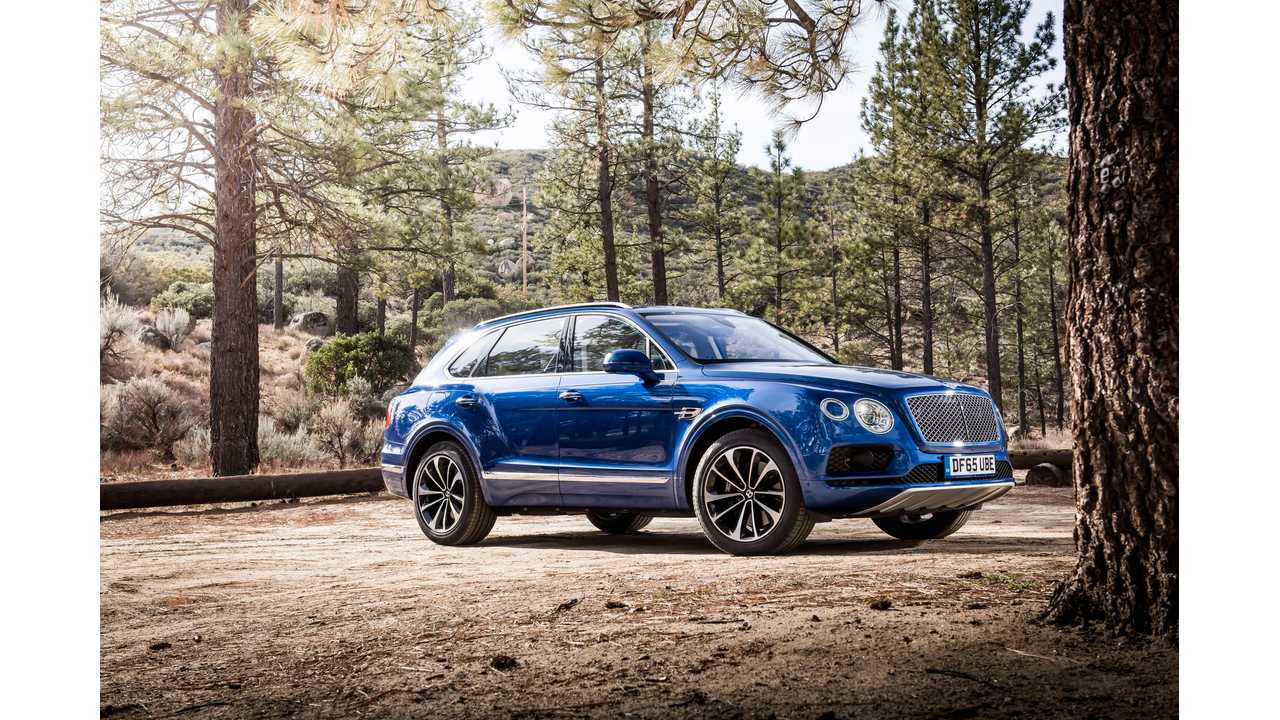 Bentley Reportedly Working On Small, Electric-Only SUV