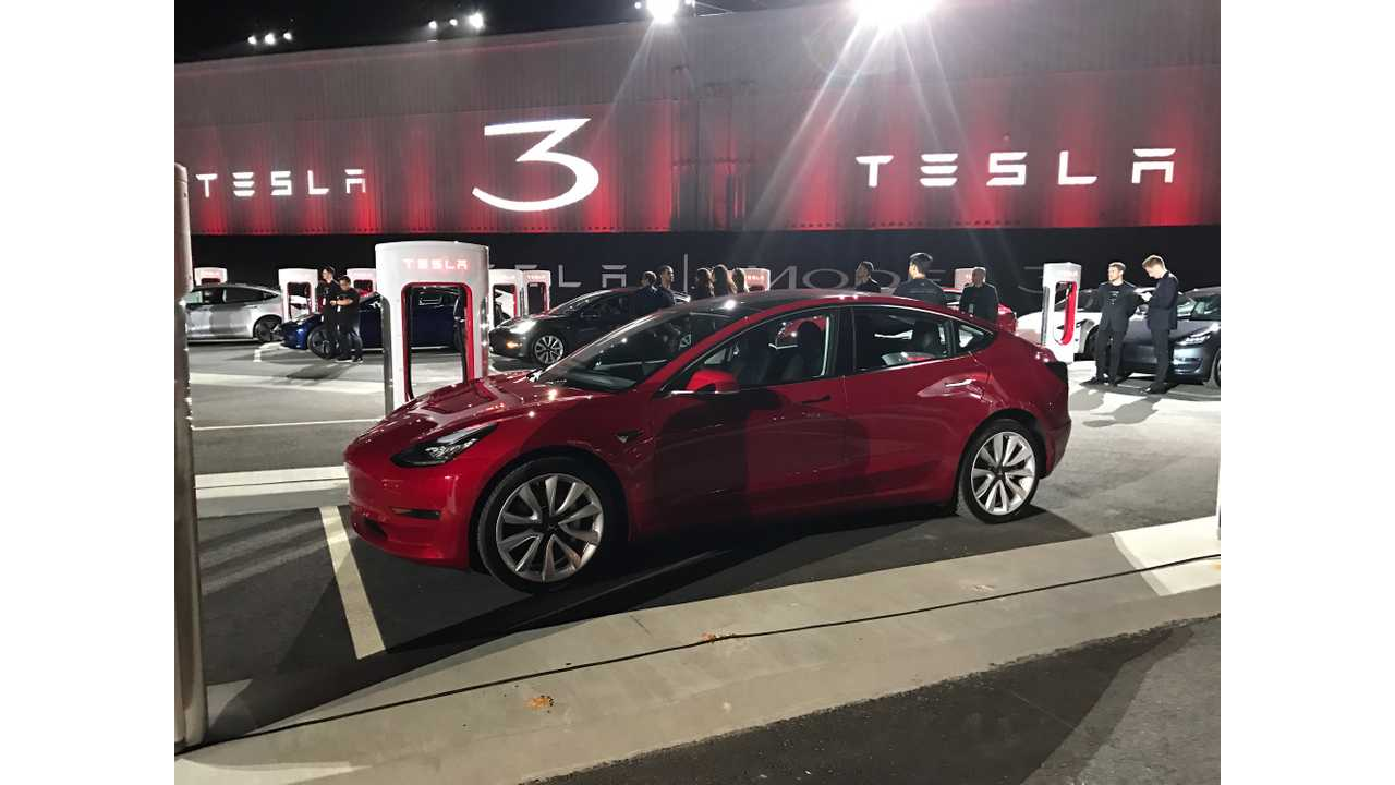 Musk Says Annual Tesla Model 3 Demand Could Hit 700,000