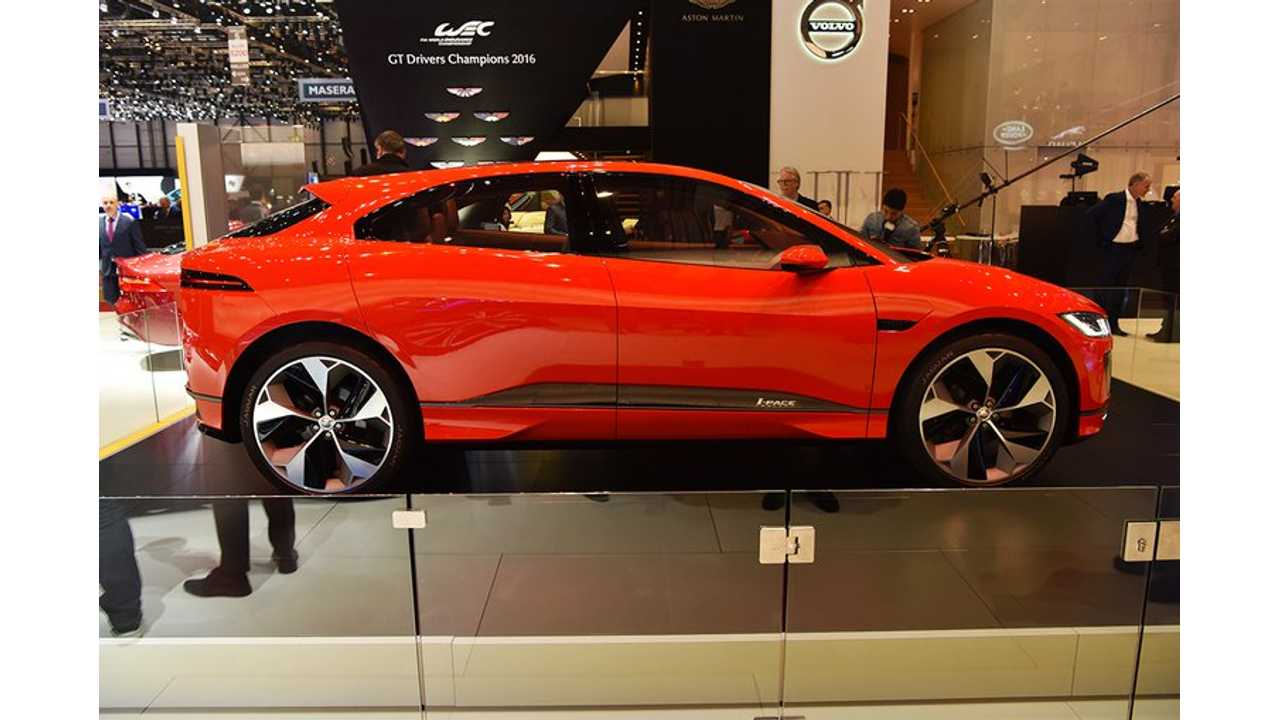 Jaguar Claims Reactions To I-Pace Electric CUV Have Been