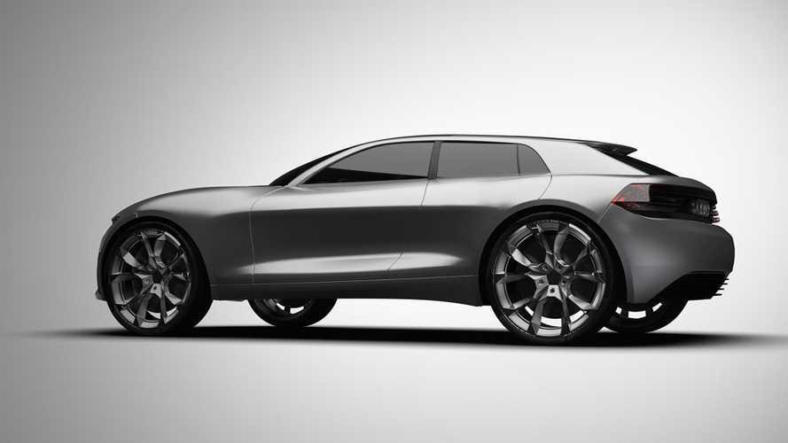 Audi Q4 E-Tron SUV Concept Rendered