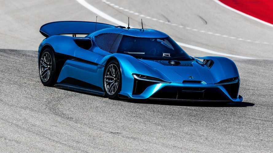 NextEV Electric Supercar Goes 160 MPH Without A Driver, Sets Autonomous Speed Record