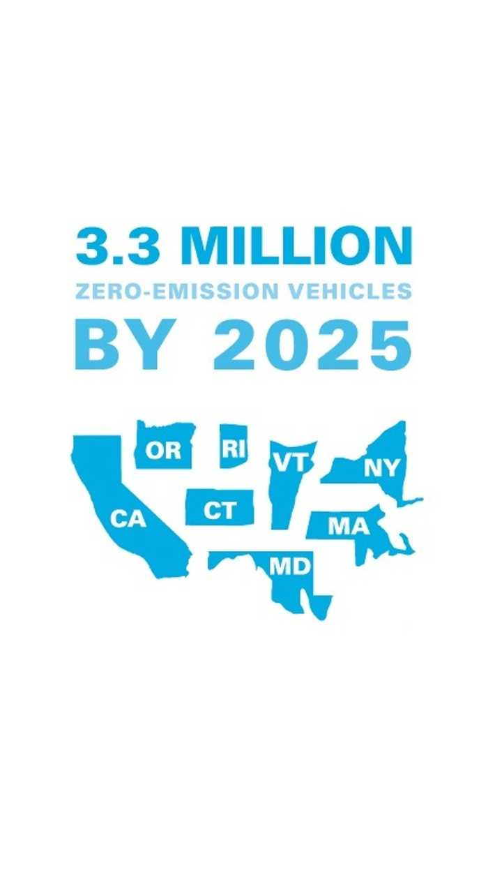 Eight States Publish Action Plan To Sell 3.3 Million EVs By 2025