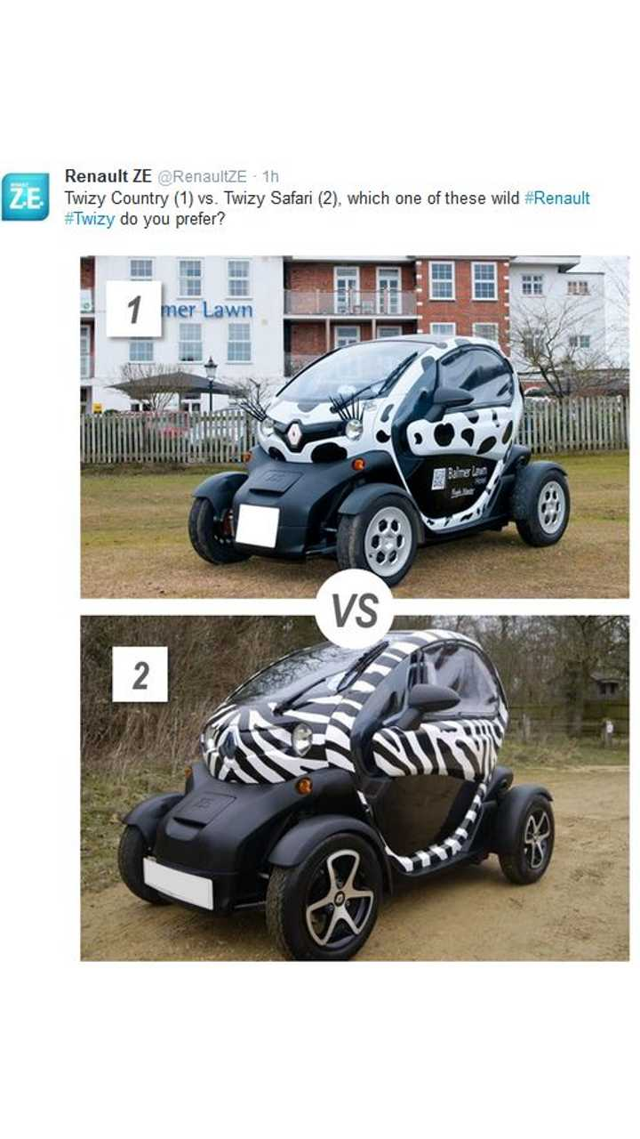 Renault Twizy Country Or Twizy Safari - Which Would You Choose?