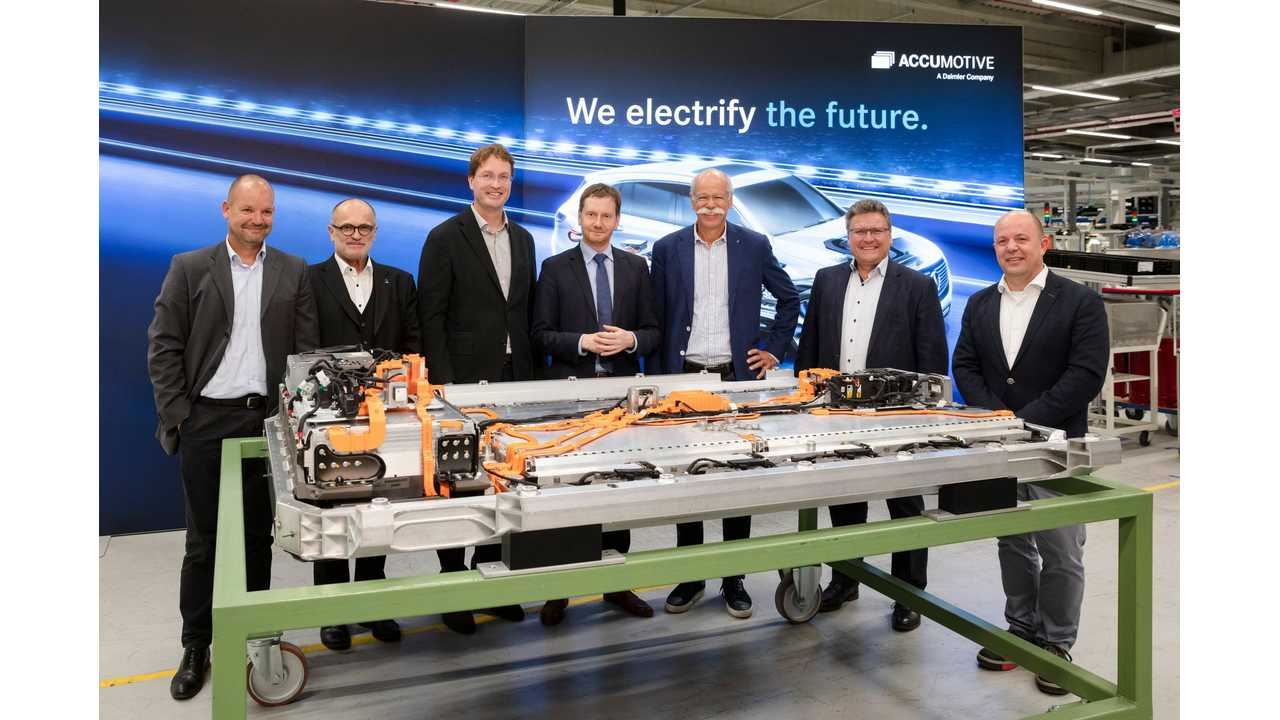 Germany Plays Catch Up, Pours $1.2 Billion Into EV Batteries