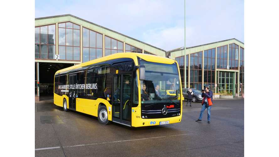 First Mercedes-Benz eCitaro Starts Service In Berlin