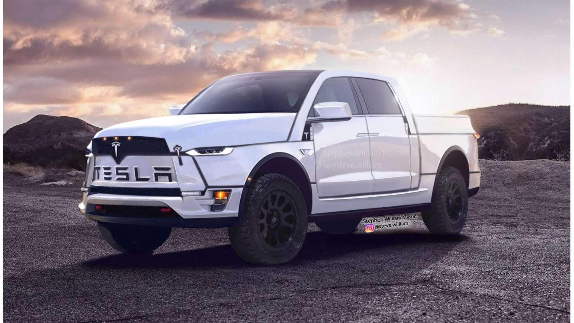 Tesla Pickup Truck To Be Priced Below 50 000 Makes Ram Seem Puny