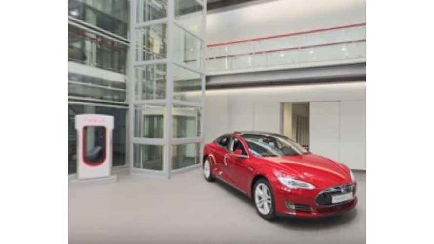 360 Degree Tesla Motors Showroom Experience - Image